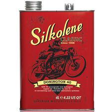 Silkolene Donnington 40 Classic SAE 40 Vintage Veteran Engine Oil 4 Litres x 2