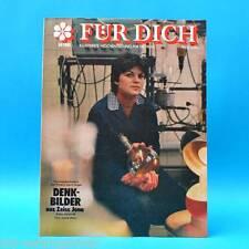 DDR FÜR DICH 14/1981 Juri Gagarin Carl Zeiss Jena Karl-Marx-Stadt Wernigerode