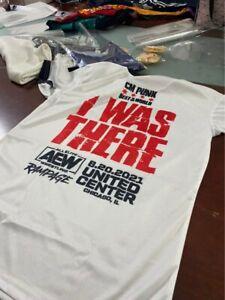 White Wrestling CM Punk Best in The World Sleeved T Shirt Ringer Return USA Broo