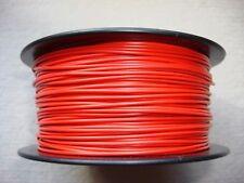 (0,13'3 €/m ) 100m Kabel Litze Schaltlitze Kupferlitze 0,25mm² rot
