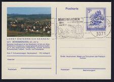 Österreich Karte Stempel Böheimkirchen 50 km a.d.Westbahn von Wien Neulengbach