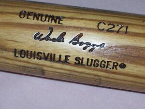 Old Wade Boggs Genuine C271 Louisville Slugger 125 Baseball Bat Hall of Fame