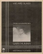 Gary Numan '45 advert 1980