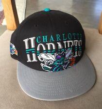 Genuine Charlotte Hornets NBA New Era Snapback Black Cap Teal Green White Grey