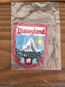 Vintage Disneyland Matterhorn Patch New