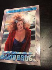 Super Mario Bros. 1993 Trading Cards Single Card 76 Lena Becomes Energized Funny