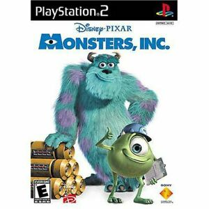 Monsters, Inc. - Authentic Sony PlayStation 2 Game