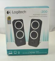 Logitech Multimedia [Cable] Speakers Z200 w/Stereo Sound for Multiple Devices