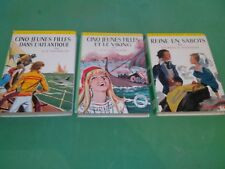 Georges Toudouze - Lot 3 poches jeunesse - Bibliothèque Verte