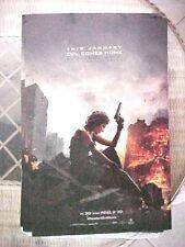 ResidentEvilMovie  NEW   THE FINAL CHAPTER 11x17   PROMO MOVIE POSTER