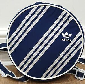 JI WON CHOI ADIDAS ORIGINALS Blue & White Three Stripe Small Backpack BNWT