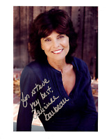 ADRIENNE BARBEAU  Hand Signed Photo 8 x 10 Color Authentic Autograph To Steve