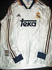 Authentic Amavisca Real Madrid 1998 1999 Match Issued Jersey Camiseta Espana