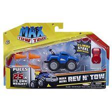 Max Tow Truck - Blue Max Mini Hauler Rev n' Tow Pack - *BRAND NEW*