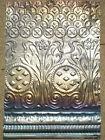 Iridescent Antique Victorian Ceiling Tin Tile Gothic Nouveau Pie Cupboard Chic
