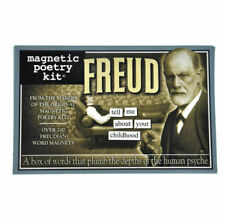 Magnetic Poetry Freud Psychoanalysis Neurotic Fun Game Fridge Magnets Words