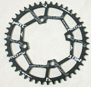 Motgu 46T Chainring 104BCD Narrow Wide Alloy Black 98g - UK Stock