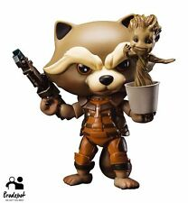 "Beast Kingdom EAA-023 - 4"" Rocket Raccoon - Guardians Of The Galaxy GOTG"