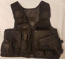 Ex Police Arktis Tactical Vest Tactical Cover XXXL 50''-54'' Taser Pouch (A838)