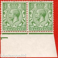 "SG. 351. N14 (1) ea. ½d green. "" DOUBLE WATERMARK "". A very RARE superb mint."