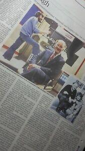 FRANK BOUGH. Times Obituary..UK newspaper cutting 27.10.20