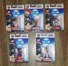 Jada DC Nano Metalfigs Metals Lot x5 Comic Batman Superman Wonder Woman FREE S/H