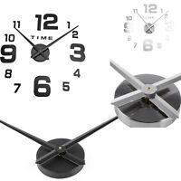 Silent Wall Clock Quartz Movement Mechanism Hands DIY Repair Clock Parts Kit UK