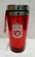 Liverpool FC Official Crested 450ml Stainless Steel Travel Mug - Great Gift Idea