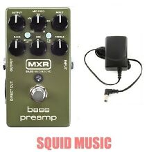 MXR Dunlop M81 Bass Preamp Direct Out 3-band EQ ( FREE POWER SUPPLY )  M-81