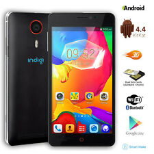 """Dual-Core 5.5"""" GSM Unlocked Android 4.4 Smart Cellphone 3G Navigation (Black)"""