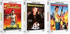 Snake Eater 1 2 3 - 3x Mediabook B (Blu Ray+DVD) NSM - NEU/OVP