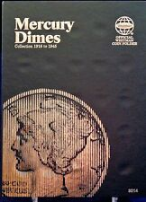 Whitman Mercury Dime 1916-1945 Coin Folder,  Album Book #9014