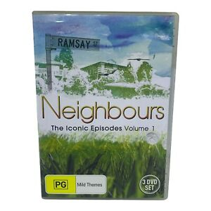 Neighbours: The Iconic Episodes Volume 1 DVD Set (3 Discs) - Region ALL, PAL