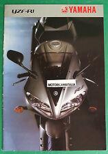 YAMAHA MOTO YZF R1  DEPLIANT CATALOGO BROCHURE CATALOG  2