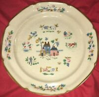 "International Tableworks 1994 HEARTLAND 10 3/4"" Dinner Plates EUC"