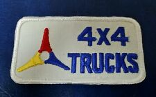 VINTAGE DODGE 4X4 TRUCK LOGO PATCH