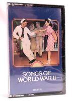 Songs of World War II Cassette SEALED NEW