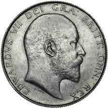 More details for 1907 halfcrown - edward vii british silver coin - v nice