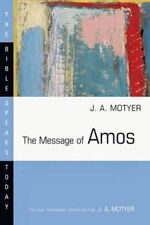 Message of Amos (Bible Speaks Today)-ExLibrary