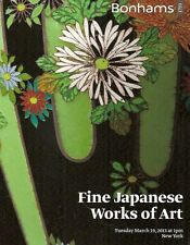 Bonhams Fine Japanese Works of Art Lacquer Auction Catalog March 2013