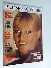 DOMENICA DEL CORRIERE   13 giugno  1972 //BRIGITTE BARDOT//IMMUNITA PARLAMENTARE