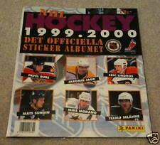 1999-00 Panini NHL Hockey Unused Empty Sticker Album