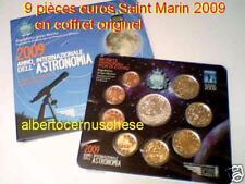 2009 BU SAINT MARIN 9 pièces 8,88 euro EURO san marino 3,88 € + 5 €