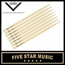 VATER VH5AN LOS ANGELES NYLON TIP 5A 4 PAIRS DRUM STICKS USA HICKORY WOOD - NEW