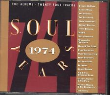 Soul Years 1974 - GEORGE McRAE BARRY WHITE BOX 2 CD 1990 NEAR MINT CONDITION