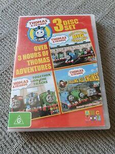 THOMAS & FRIENDS (3 x DVD Discs, ABC FOR KIDS, 2010) PAL Region 4