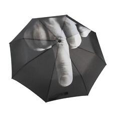 Middle Finger Up Yours/Fuck Flod Foldable Creative Rain Stylish Fashion Umbrella