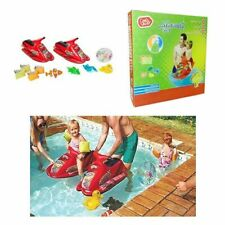 Chad Valley Waterplay Inflatable Toys Set With Jet Skis, Beach Ball Arm Bands