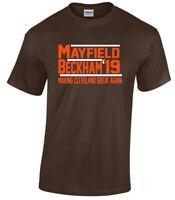 Baker Mayfield Odell Beckham Jr Cleveland Browns 2019 T-Shirt