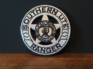 Southern Ute Tribal Ranger Embroidered Badge